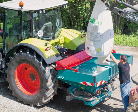 DX20 and DX20+ fertiliser spreader - Sulky